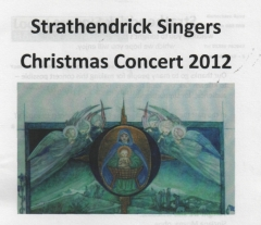 2012 Christmas Programme Cover