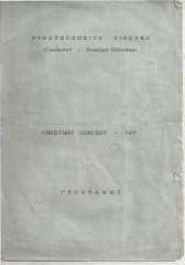 1977 - the very first programme - 1