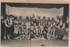 M&B Herald photograph - 1982 the Gondoliers