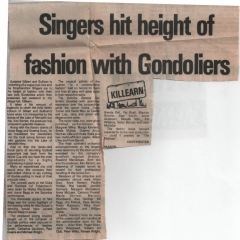 M&B Herald report - 1982 the Gondoliers