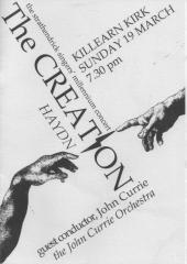 2000 Millenium Concert Programme Cover