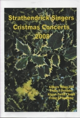 2008 Christmas Programme Cover