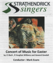 2013 Spring Concert Programme Cover