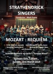 2014 poster Mozart Requiem