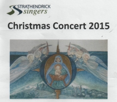 2015 Christmas Programme Cover