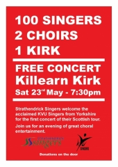 2015 KVU Killearn poster
