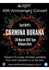 Carmina Poster2