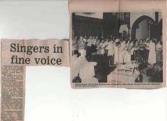 1984 - Spring rehearsal