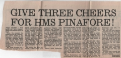 M & B Herald report - 1986 HMS Pinafore