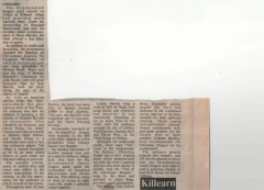 St Observer report - 1987 Christmas Concert