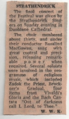 St Observer report - Stirling Festival 1980