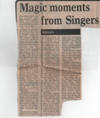 St Observer report - The Gondoliers 1981