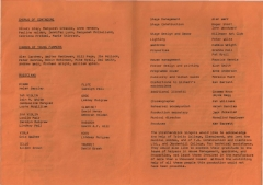 1982 Christmas - the Gondoliers - Cast 2